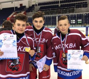 Стивен Сардарян в составе сборной Москвы