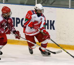 ХК «Русь» сыграла победный матч в СШОР «Спартак»